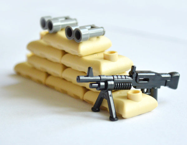 Toy Military Weapons. 96 Piece Set. Brick Toys Compatible With Other Brands