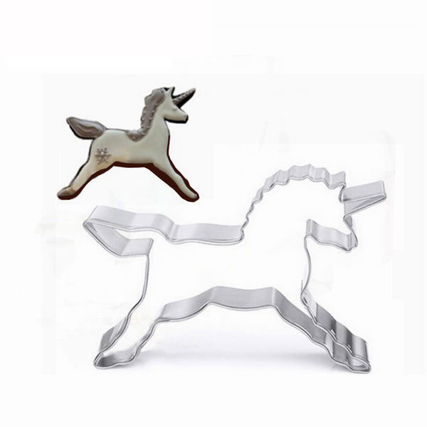 Stainless Steel Unicorn Cookie Cutter Cake Cutter Cake Mould
