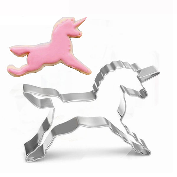 Unicorn Stainless Steel Cookie Cutter. Unicorn Mould. Kitchen/Baking Accessory.