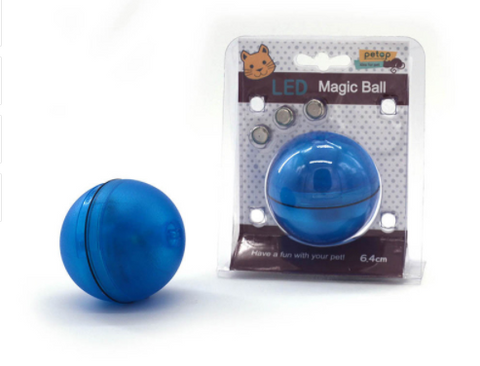Pet Cat or Dog LED Light Up Ball - Perfect Toy To Keep Your Pet Cat or Dog Busy