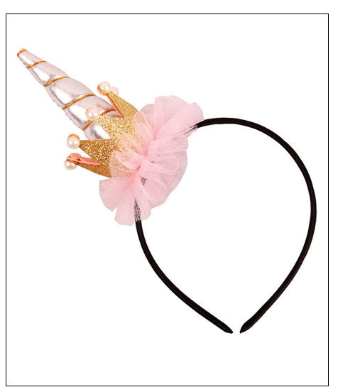 Unicorn Hairband With Or Without Ears Hair Bands. Hair Accessories. Party. Dress Up/Cosplay. Halloween.