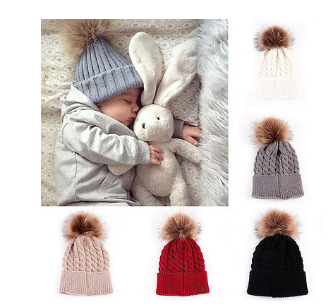 Baby Beanie Hat Colours Available - White, Grey, Khaki, Red, Black