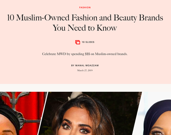 Allure | 10 Muslim-Owned Fashion and Beauty Brands You Need to Know