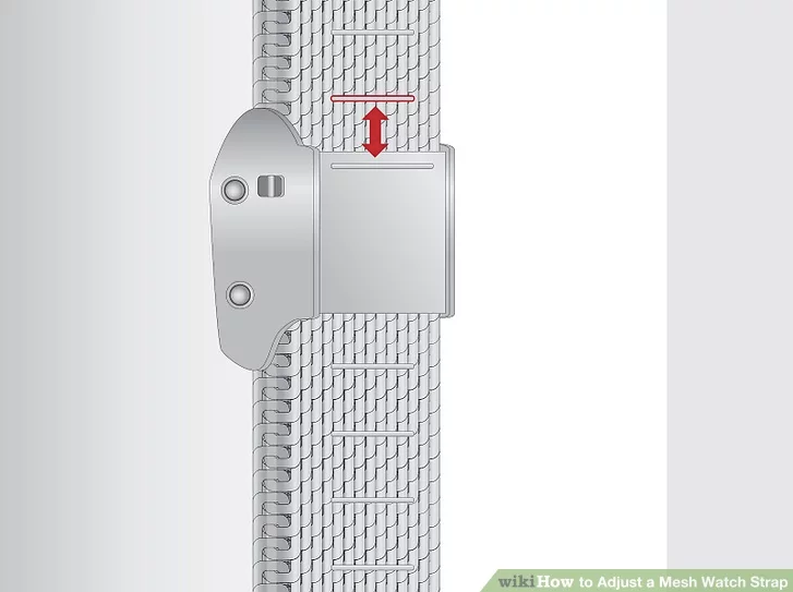 How to Adjust a Nominal Mesh Watch Strap