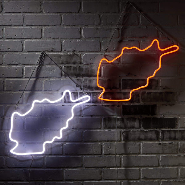Afghanistan Neon Sign - Nominal