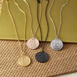 Choose Your Hometown Coin Necklace | Women - Nominal