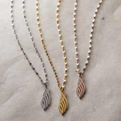 Allah Calligraphy Necklace | Women - Nominal