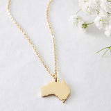 Australia Map Necklace | Women - Nominal