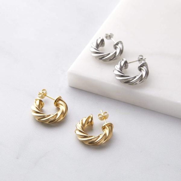 Essential Braided Hoops | Small - Nominal