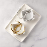 Essential Braided Hoops | X-Large - Nominal