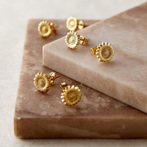 Sunflower Stud Earrings - Nominal