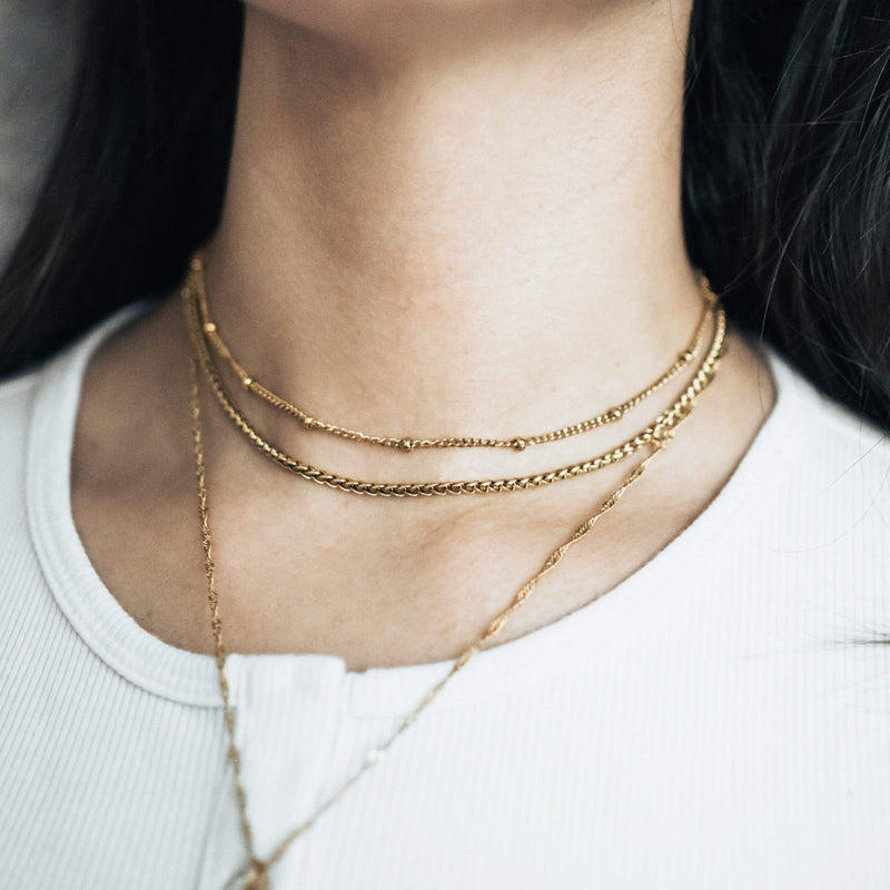 Wheat Chain Choker - Nominal