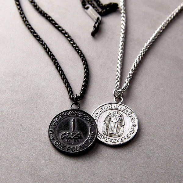 Egypt Coin Necklace | Men - Nominal