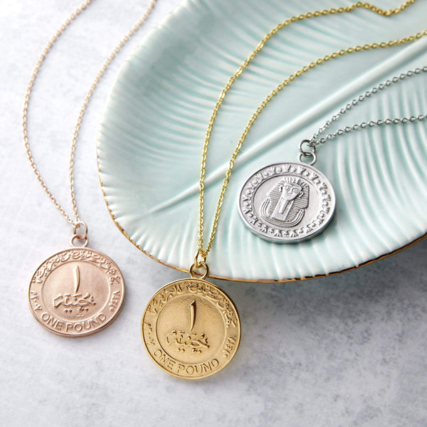 Egypt Coin Necklace | Women