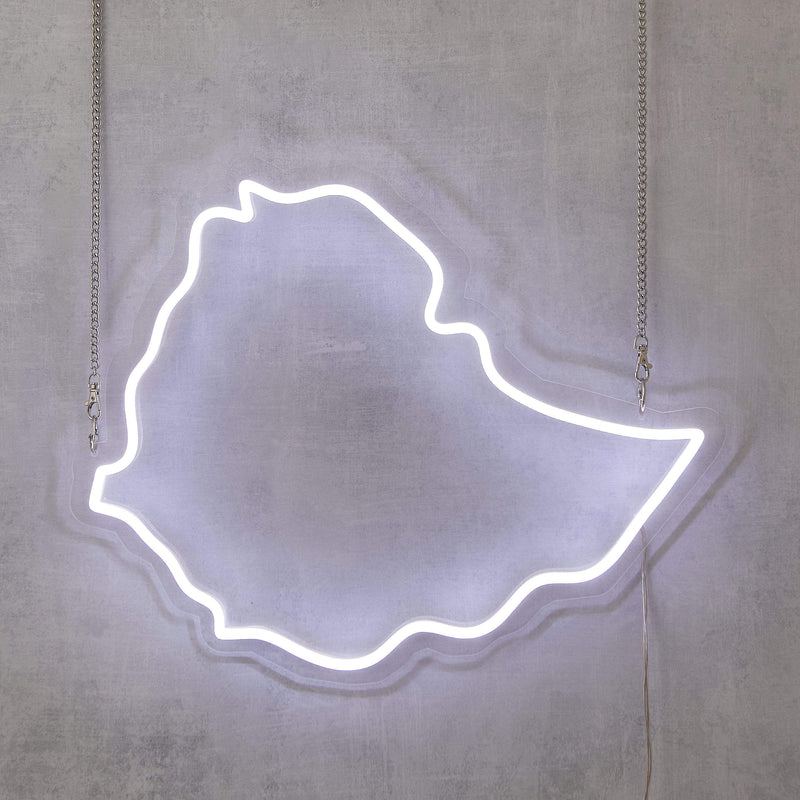 Ethiopia Neon Sign - Nominal