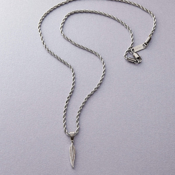 Miniature Feather Necklace | Men - Nominal