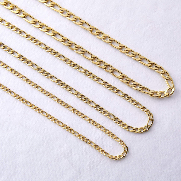 Figaro Chain Necklace - Nominal