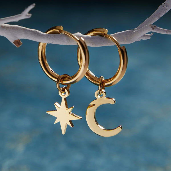 Galaxy Hoop Earrings - Nominal