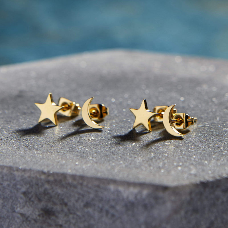 Galaxy Stud Earrings | Set of 4 - Nominal