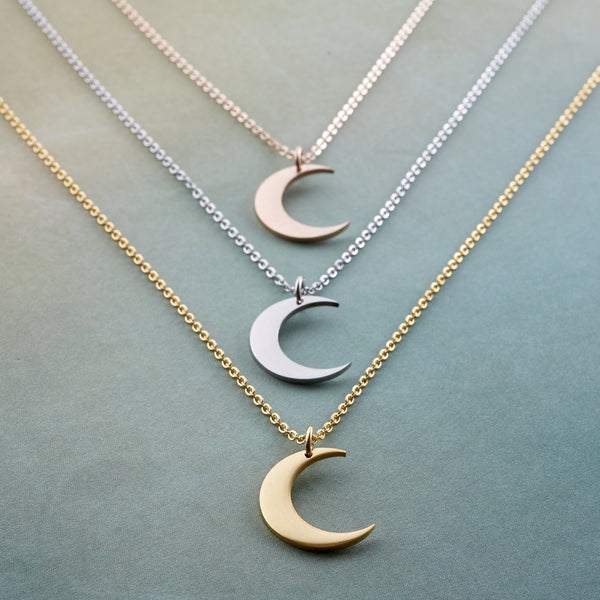 Crescent Moon Necklace - Nominal