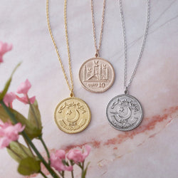 Women's Pakistan Coin Necklace - NOMINAL
