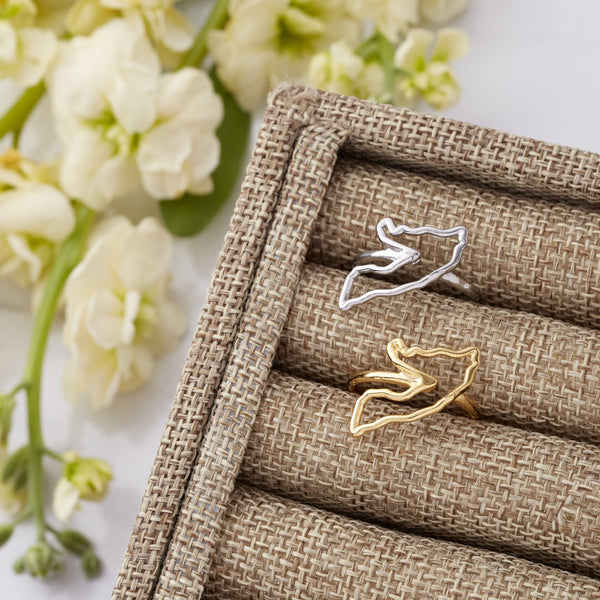 Choose Your Hometown Ring | 18K Gold Plated - Nominal