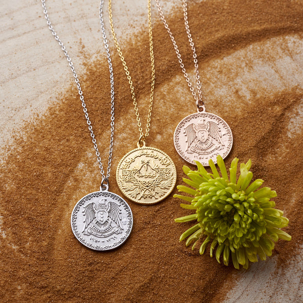 Women's Syria Coin Necklace - NOMINAL
