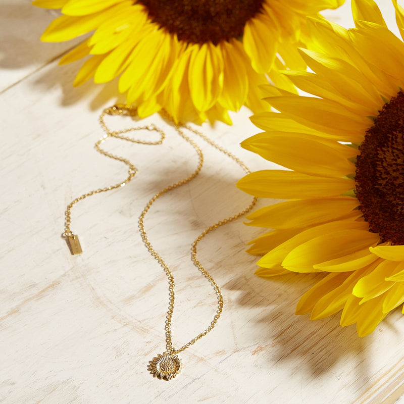 Sunflower Necklace - Nominal