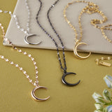 Premium Crescent Necklace | Women - Nominal