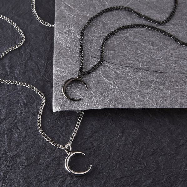 Premium Crescent Necklace | Men - Nominal