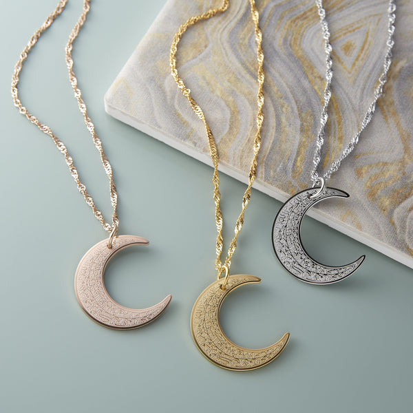 4 Qul Crescent Necklace | Women - Nominal