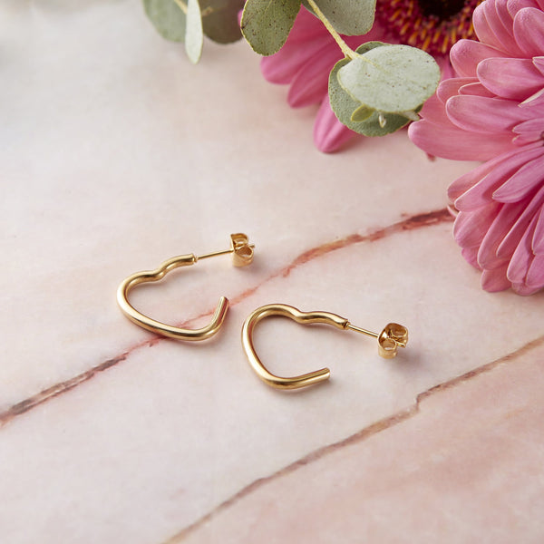 Essential Heart Earrings - Nominal