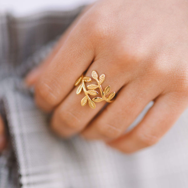 Olive Leaf Ring - Nominal