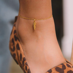 Lebanon Map Anklet - Nominal
