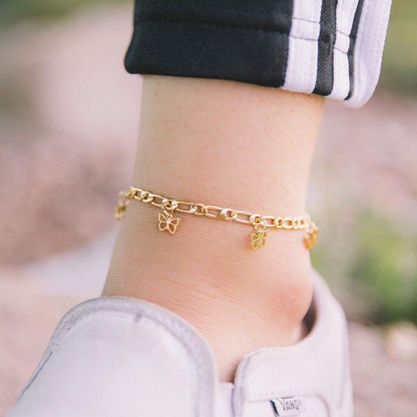 Butterfly Anklet - Nominal