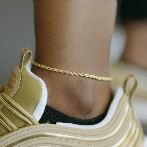 Rope Chain Anklet - Nominal