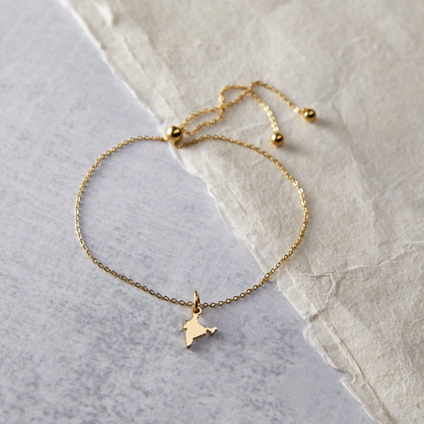 India Map Anklet - Nominal