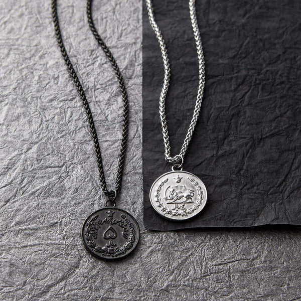 Iran Coin Necklace | Men - Nominal