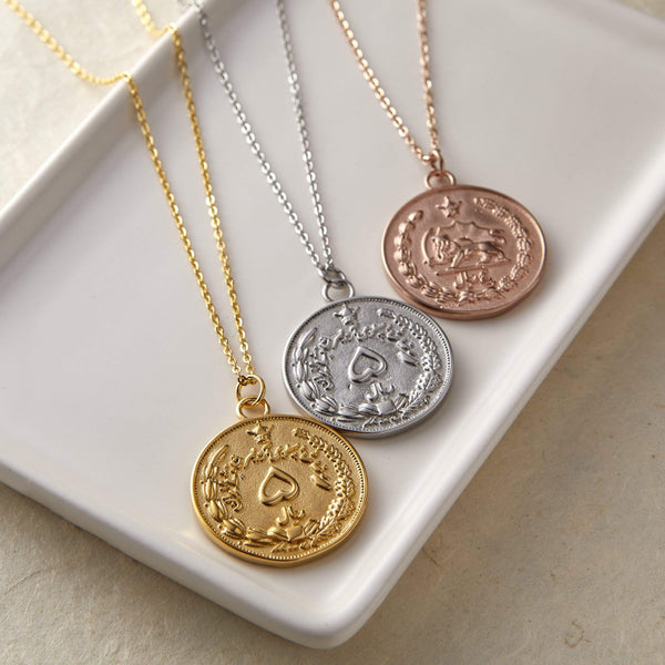 Iran Coin Necklace | Women - Nominal