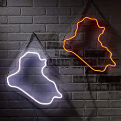 Iraq Neon Sign - Nominal
