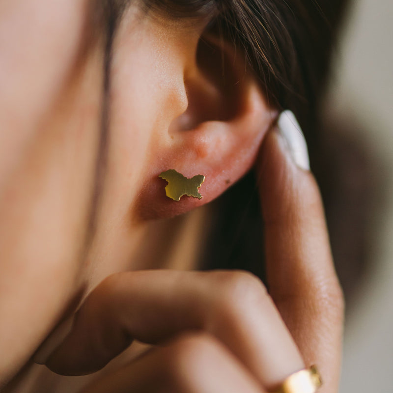 Kashmir Stud Earrings | Women - Nominal
