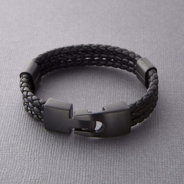 Triple Leather Bracelet - Nominal