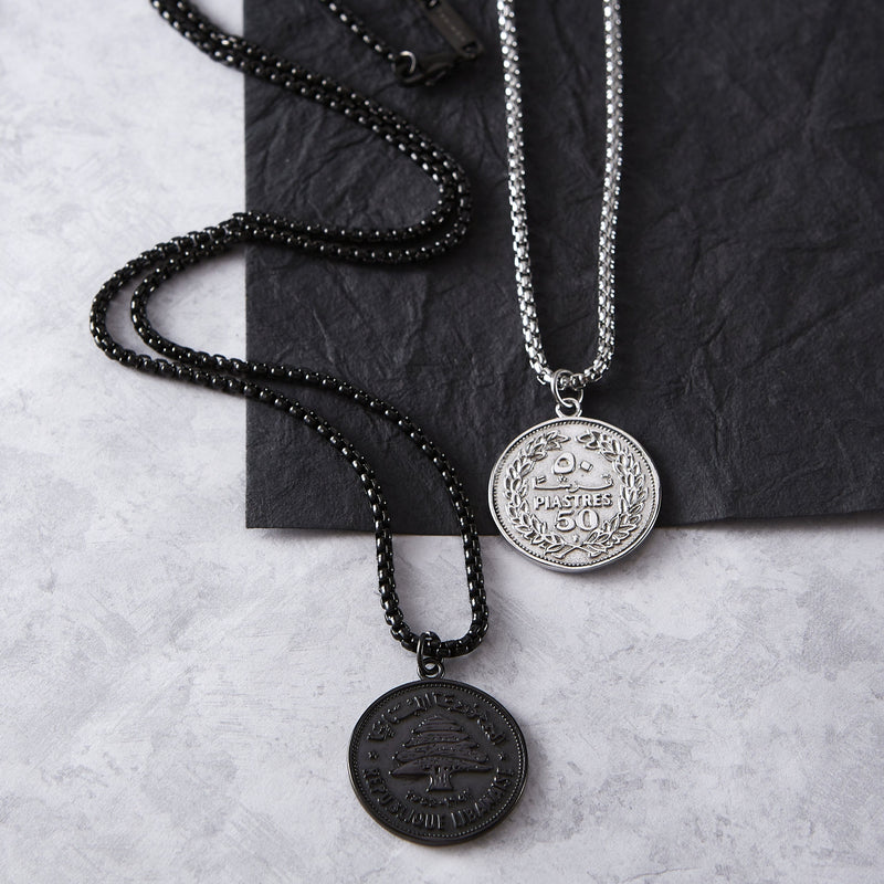 Lebanon Coin Necklace | Men - Nominal