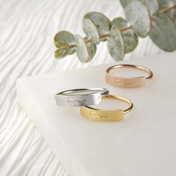 Love | Bar Ring - Nominal
