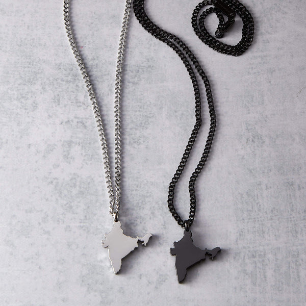 India Map Necklace | Men - Nominal