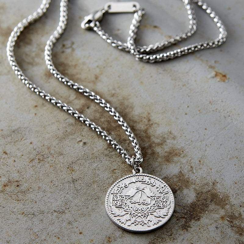 Syria Coin Necklace | Men - Nominal