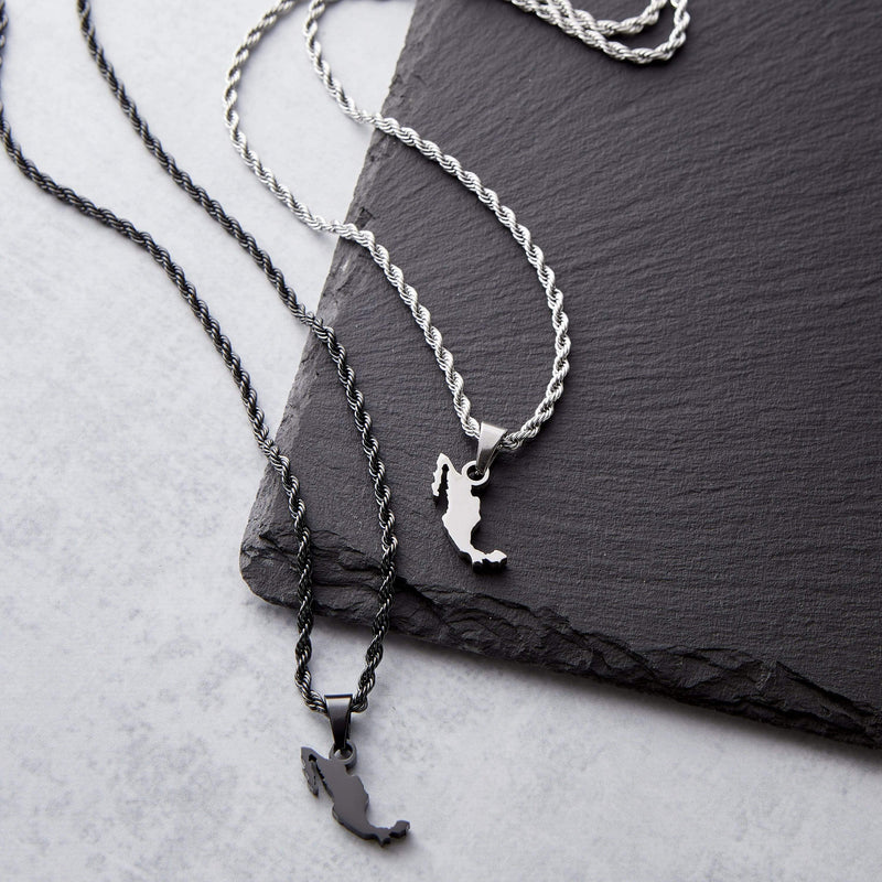Mexico Map Necklace | Men - Nominal