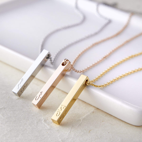 Mini Core Values Bar Necklace | Women - Nominal