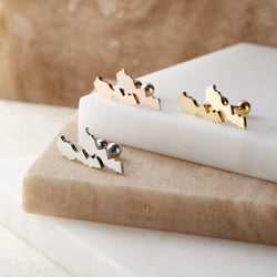Morocco Stud Earrings | Women - Nominal