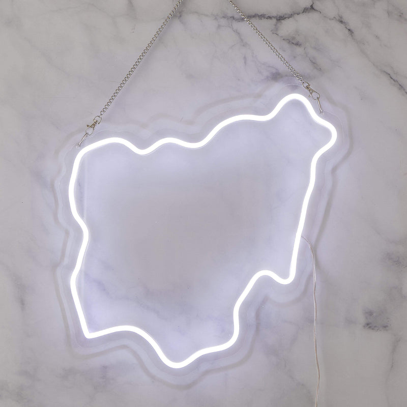 Nigeria Neon Sign - Nominal